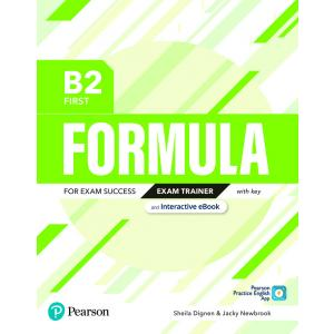Formula. B2 First. Exam Trainer with key with student online resources + App + eBook