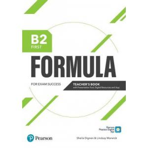 Formula. B2 First. Teacher's Book with Presentation Tool and Online resources + App + ebooks