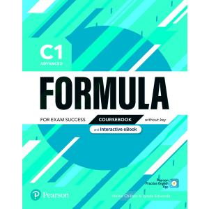 Formula. C1 Advanced. Coursebook without key with student online resources + App + eBook