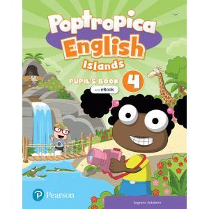 Poptropica English Islands 4. Pupil's Book + Online World Access Code + eBook