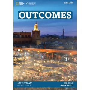 Outcomes Intermediate 2nd Edition. Podręcznik + DVD