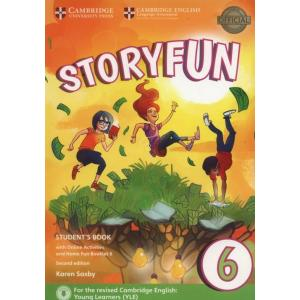 Storyfun 2ed 6 Flyers SB + Online Activities and Home Fun Booklet 6