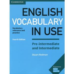 English Vocabulary in Use Pre-Intermediate and Intermediate 4th Edition. Książka z Kluczem