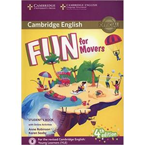 Fun for Movers 4th Edition. Podręcznik + Audio Online + Online Activities