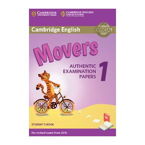 Cambridge English Movers 1 for Revised Exam from 2018. Podręcznik