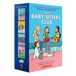 The Baby-Sitters Club Graphix 1-4 Box Set: Full-Color Edition