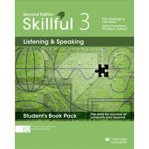 Skillful 2nd edition Level 3 Listening & Speaking Premium Student's Book Pack