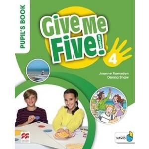 Give Me Five! 4. Pupil's Book Pack
