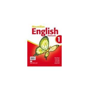 Macmillan English 1.    Flashcards