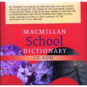 Macmillan School Dictionary CD-ROM