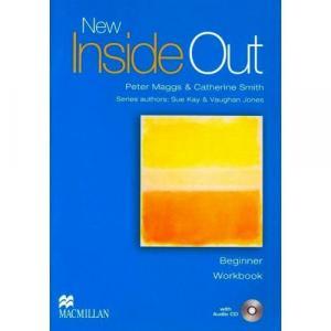 New Inside Out Beginner.    Ćwiczenia + CD (bez Klucza)