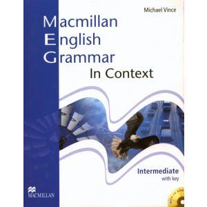 Macmillan English Grammar in Context Intermediate. Książka z Kluczem + CD