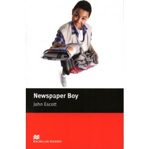 Newspaper Boy.  Macmillan Readers Beginner