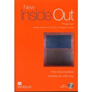 New Inside Out Pre-Intermediate. Ćwiczenia + CD (z Kluczem)