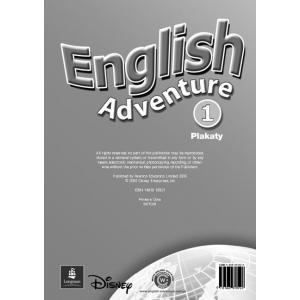 English Adventure 1   Zestaw Plakatów