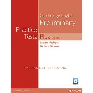 Practice Tests Plus PET. Podręcznik z Kluczem + CD