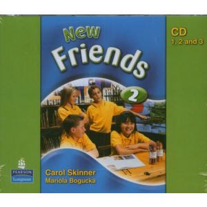 New Friends 2.   CD do Podręcznika