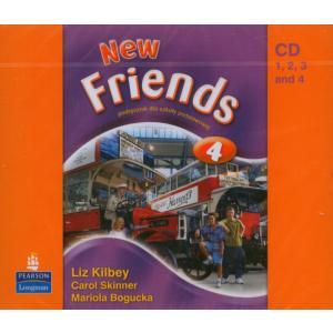 New Friends 4.   CD do Podręcznika