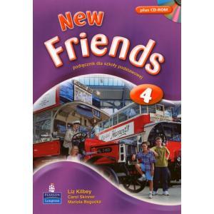 New Friends 4.    Podręcznik + CD-ROM