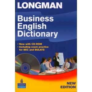 Longman Business English Dictionary + CD-ROM.    Miękka Oprawa