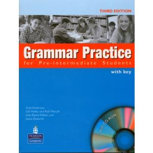 Grammar Practice for Pre-Intermediate Students.    Podręcznik + Klucz + CD-ROM