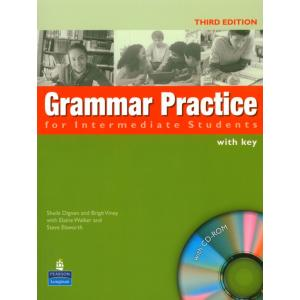 Grammar Practice for Intermediate Students.   Podręcznik + Klucz + CD-ROM