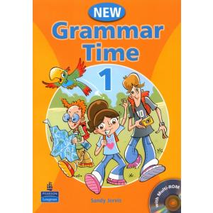 New Grammar Time 1.  Podręcznik + CD