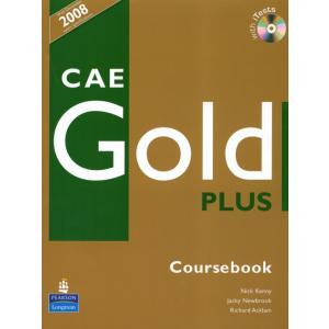 CAE Gold Plus. Podręcznik + iTest CD