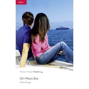 Girl Meets Boy + CD. Pearson English Readers
