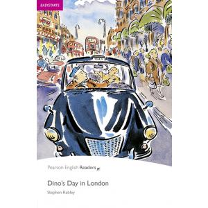 Dino's Day in London + CD. Pearson English Readers