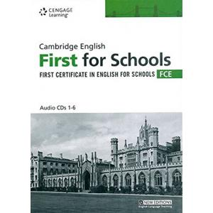 Cambridge English First For Schools FCE CD-Audio