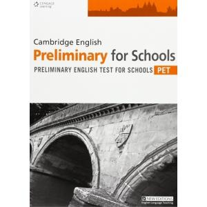 Cambridge English Preliminary For Schools PET Tb