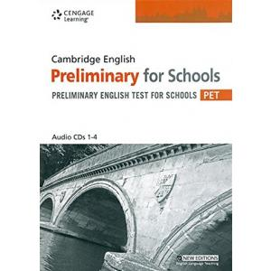Cambridge English Preliminary For Schools PET CD-Audio