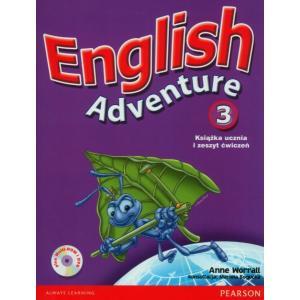 English Adventure 3. Podręcznik z Ćwiczeniami + DVD