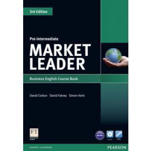 Market Leader Pre-Intermediate. Podręcznik + DVD