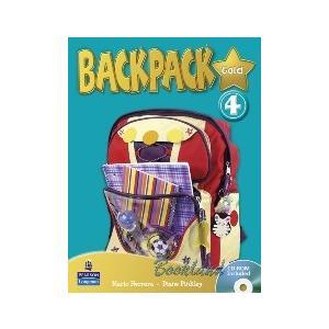 Backpack Gold 4.    Podręcznik + CD-ROM