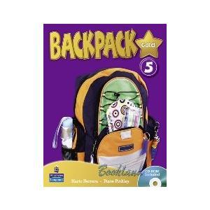 Backpack Gold 5.    Podręcznik + CD-ROM