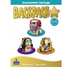 Backpack Gold 4-6.    Assessment Book + Multi-ROM