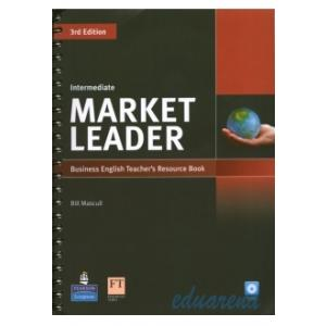 Market Leader Intermediate. Książka Nauczyciela + CD