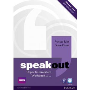 Speakout Upper Intermediate.    Ćwiczenia z Kluczem + CD