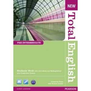 New Total English Pre-Intermediate.   Podręcznik + Active Book + MyEnglishLab