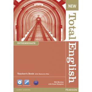 New Total English Intermediate. Książka Nauczyciela + Teacher's Resource Disc