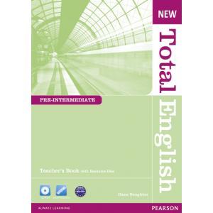 New Total English Pre-Intermediate. Książka Nauczyciela + Teacher's Resource Disc