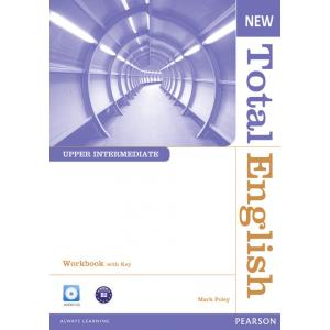 New Total English Upper Intermediate. Ćwiczenia z Kluczem + CD