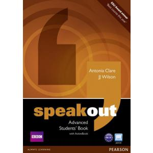Speakout Advanced. Podręcznik + Active Book + DVD