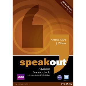 Speakout Advanced. Podręcznik + Active Book + DVD + MyEnglishLab