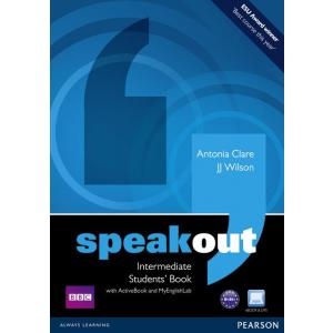 Speakout Intermediate. Podręcznik + Active Book + DVD + MyEnglishLab