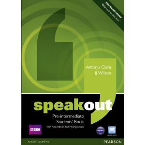 Speakout Pre-Intermediate.   Podręcznik + Active Book + DVD + MyEnglishLab