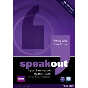 Speakout Upper Intermediate.   Podręcznik + Active Book + DVD + MyEnglishLab