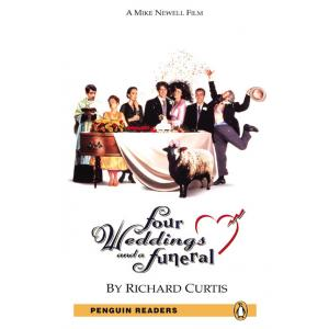 Four Weddings And a Funeral (Cztery Wesela i Pogrzeb) + MP3. Penguin Readers